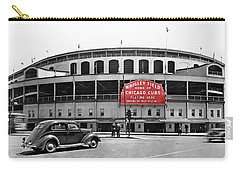 Wrigley Field - Home Of The Cubs C. 1939 Carry-all Pouch