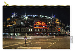 Wrigley Field Marquee At Night Carry-all Pouch