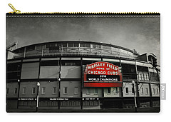 Wrigley Field Carry-all Pouch by Stephen Stookey