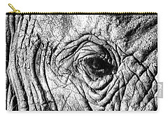 Wrinkled Eye Carry-all Pouch