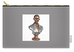 Obama Bronze Bust Carry-all Pouch by Dothlyn Morris Sterling