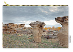 Carry-all Pouch featuring the photograph Writing On Stone Park by Fran Riley