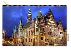 Wroclaw Old Town Hall By Night  Carry-all Pouch