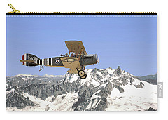 Carry-all Pouch featuring the photograph Ww1 - Bristol Fighter by Pat Speirs