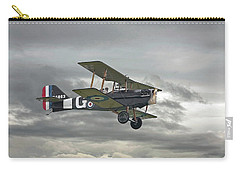 Carry-all Pouch featuring the digital art Ww1 - Icon Se5 by Pat Speirs