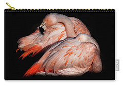 Carry-all Pouch featuring the photograph When Two Become As One by Karen Wiles
