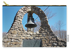 Wwi Memorial In Norfolk Connecticut Carry-all Pouch by Catherine Gagne