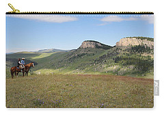 Wyoming Bluffs Carry-all Pouch by Diane Bohna