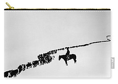 Wyoming: Cattle, C1920 Carry-all Pouch
