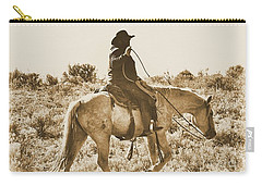 Wyoming Cowboy Carry-all Pouch