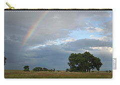 Wyoming Rainbow Carry-all Pouch by Diane Bohna