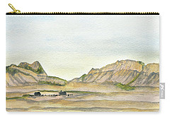 Wyoming Ranch Carry-all Pouch by R Kyllo