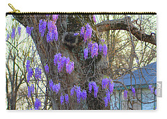 Wysteria Tree Carry-all Pouch