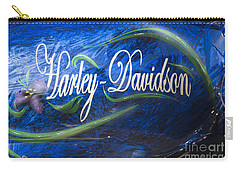 Harley Davidson 2 Carry-all Pouch by Wendy Wilton