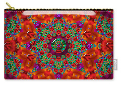 Carry-all Pouch featuring the digital art Xmas by Robert Orinski
