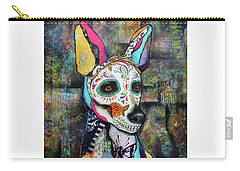 Xolo Mexican Hairless Day Of The Dead Carry-all Pouch