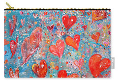 Xoxo Carry-all Pouch by Evelina Popilian