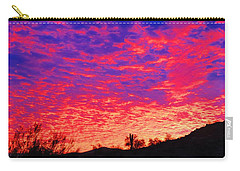 Y Cactus Sunset 1 Carry-all Pouch