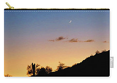 Y Cactus Sunset Moonrise Carry-all Pouch
