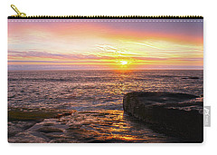 Yachats Sunset Carry-all Pouch