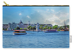 Yacht And Beach Club Walt Disney World Carry-all Pouch by Thomas Woolworth
