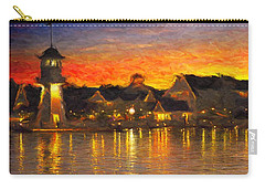 Yacht Club Carry-all Pouch by Caito Junqueira