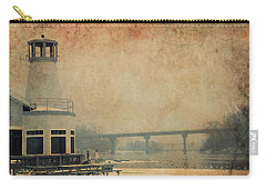 Carry-all Pouch featuring the photograph Yacht Club On The Fox by Joel Witmeyer