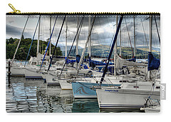 Yachts On Lake Windermere Carry-all Pouch