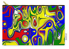 Carry-all Pouch featuring the digital art Yage by Maciek Froncisz