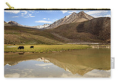 Yaks In Ladakh Carry-all Pouch