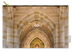 Carry-all Pouch featuring the photograph Yale University Sterling Memorial Library by Susan Candelario