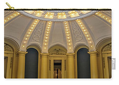 Carry-all Pouch featuring the photograph Yale University Woolsey Hall by Susan Candelario