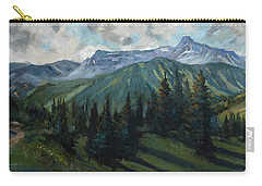 Carry-all Pouch featuring the painting Yankee Boy Basin by Billie Colson