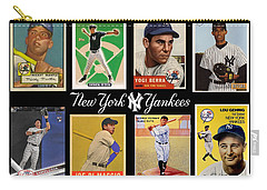 Yankee Cardboard Greats Carry-all Pouch