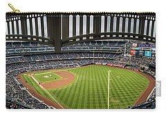 Yankee Stadium From Stands  Carry-all Pouch