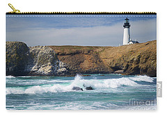 Yaquina Head Lighthouse On The Oregon Coast Carry-all Pouch
