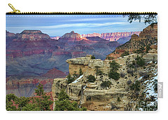 Yavapai Point Sunset Carry-all Pouch by Diana Mary Sharpton
