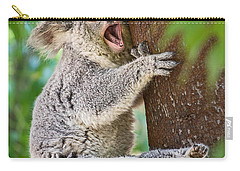 Yawn And Stretch Carry-all Pouch