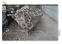 Carry-all Pouch featuring the photograph Ye Old Fishing Boat by Fran Riley