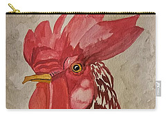 Year Of The Rooster 2017 Carry-all Pouch by Maria Urso