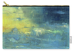 Carry-all Pouch featuring the painting Yearning Tides by Michal Mitak Mahgerefteh