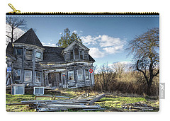 Carry-all Pouch featuring the photograph Years Gone By by Richard Bean