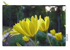 Yellow African Daisy Carry-all Pouch