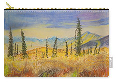 Yellow Alaska Carry-all Pouch
