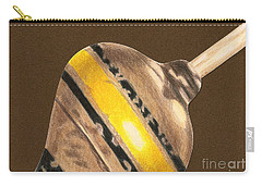 Yellow And Black Top Carry-all Pouch
