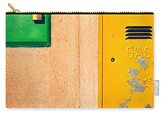 Carry-all Pouch featuring the photograph Yellow And Green by Silvia Ganora