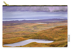 Carry-all Pouch featuring the photograph Yellow Autumn #g8 by Leif Sohlman