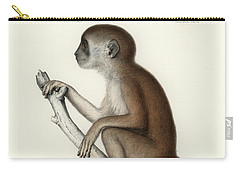 Yellow Baboon, Papio Cynocephalus Carry-all Pouch