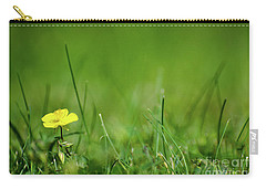 Carry-all Pouch featuring the photograph Yellow Beauty by Kennerth and Birgitta Kullman