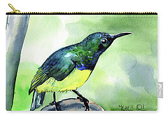 Yellow Bellied Sunbird Carry-all Pouch